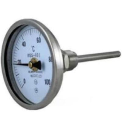 RET/瑞尔特 WSSF-402系列 不锈钢双金属温度计 轴向 表盘直径100mm 可动内螺纹,仪器仪表,温度过控/检测,双金属温度计,0-100℃,50mm,100mm,200mm,300mm,0-200℃,0~300℃,0~400℃,0~50℃,0-500℃