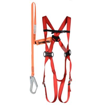 DELTA/代尔塔 一体型防坠套装 506101 含HAR11安全带+AN209CD单大钩减震绳 ENKIT01 1套,工具设备,劳保用品,坠落防护