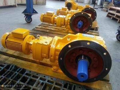 K系列斜齿轮螺旋锥齿轮减速机