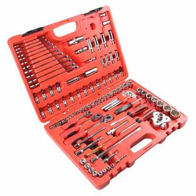 "JETECH/捷科 1/4""×3/8""×1/2""系列公制套筒套装(121件)吹塑盒 SK-121SP 121件 4-32"
