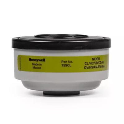 HONEYWELL/霍尼韦尔 5000/7000系列防毒滤盒 75SC 防护多种气体 1包,工具设备,劳保用品,呼吸防护
