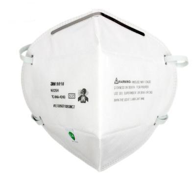 3M 折叠式防颗粒物口罩 9010 N95 头戴式 1个