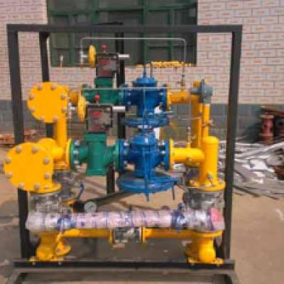 小型LNG汽化调压撬