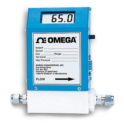 OMEGA/欧米茄 热式气体质量流量计 FMA-A2306 ±1% 一体式显示 1个,仪器仪表,流量/液位检测,流量计