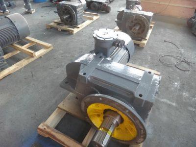 F平行轴斜齿轮减速机(齿轮全磨,噪音低)