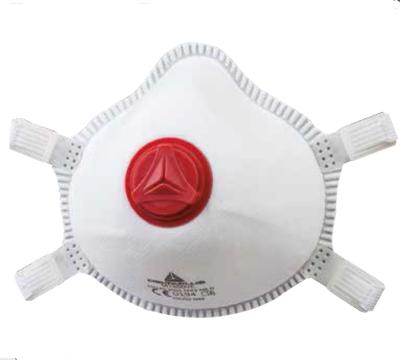 DELTA/代尔塔 免保养杯型颗粒物防护口罩 104019 N99 头戴式 带阀 小码 1盒,工具设备,劳保用品,呼吸防护
