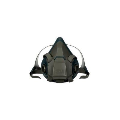 M 6500硅胶系列呼吸防护半面罩 6502 中号 1个,工具设备,劳保用品,呼吸防护
