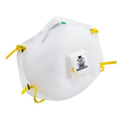 3M 焊接用防护口罩 8515CN N95 头戴式 带阀 1个