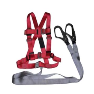 BAIYEAN/百业安 双背式安全带套装 EPI-12002-1.2M 配有双大钩安全绳 1件,工具设备,劳保用品,坠落防护