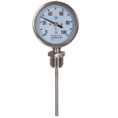 RET/瑞尔特 WSSF-412系列 不锈钢双金属温度计 径向 表盘直径100mm可动内螺纹,仪器仪表,温度过控/检测,双金属温度计,0-100℃,50mm,100mm,200mm,300mm,0-200℃,0~300℃,0~400℃,0~50℃,0-500℃