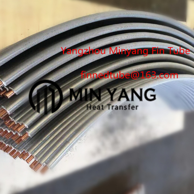 铜铝复合U型弯管翅片管,零部件产品,管件,换热管,,,,